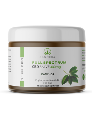 Full Spectrum Organic CBD Salve 400MG