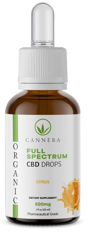 Full Spectrum Organic CBD Drops 500MG