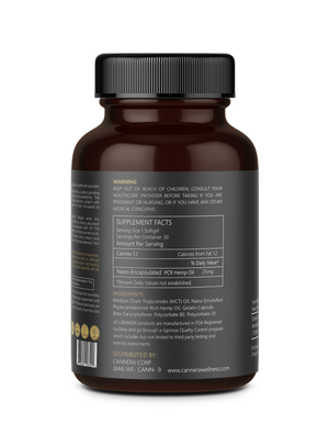 Full Spectrum Advanced Nano CBD Softgels 750MG
