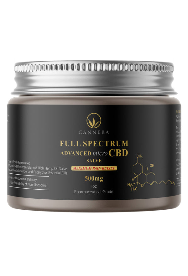 This Nano-Emulsified CBD Salve is designed to work fast and provide maximum relief of pain, inflammation, soreness, arthritis, bruising, nerve pain, muscle pain, and migraines. Apply topically to affected areas of the skin.
