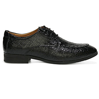 Genuine cow Leather Men Oxfords Business Dress Shoes