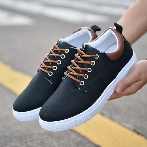 Canvas Men Casual Shoes New 2018 Spring Autumn Fashion Male Sneakers For Men Shoes