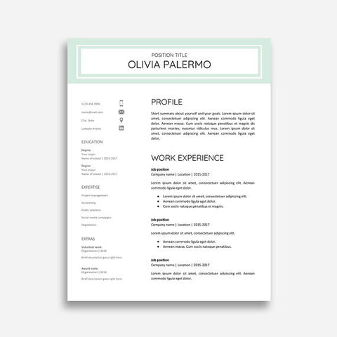 Google Docs Resume Template from DesignStudioTeti