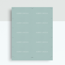 Load image into Gallery viewer, Aubrey Lincoln | Google Docs Professional Business Cards Template