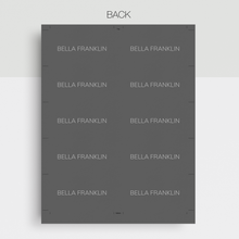 Load image into Gallery viewer, Bella Franklin | Google Docs Professional Business Cards Template