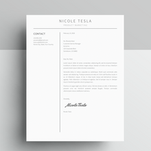 Load image into Gallery viewer, Google Docs Resume and Cover Letter Template