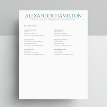 Load image into Gallery viewer, Alexander Hamilton | Google Docs Resume Template | CV Template - MioDocs