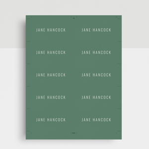 Jane Hancock | Google Docs Professional Business Cards Template