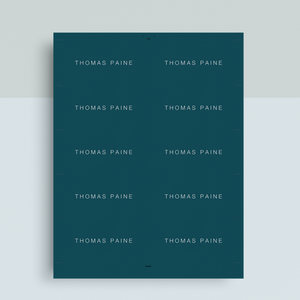 Thomas Paine | Google Docs Professional Business Cards Template