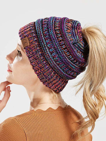 Solid Color Scarf&Hat Accessories