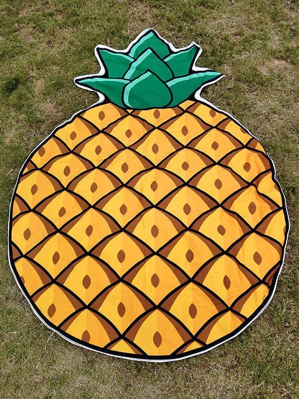 Sweet Pineapple Vacation Scarve Shawl Beach Mat