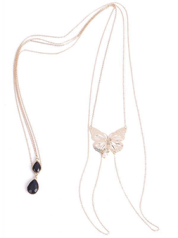 Bohemia Butterfly Tassels Body Chain Accessories