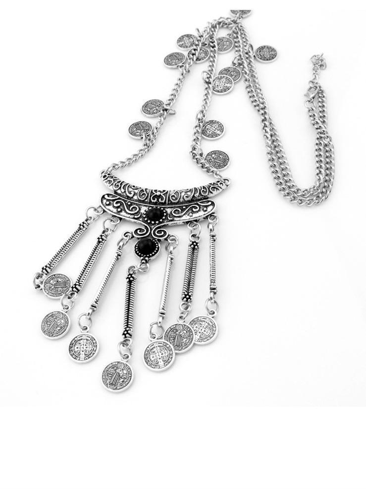 Tasselled Alloy Necklaces Accessories
