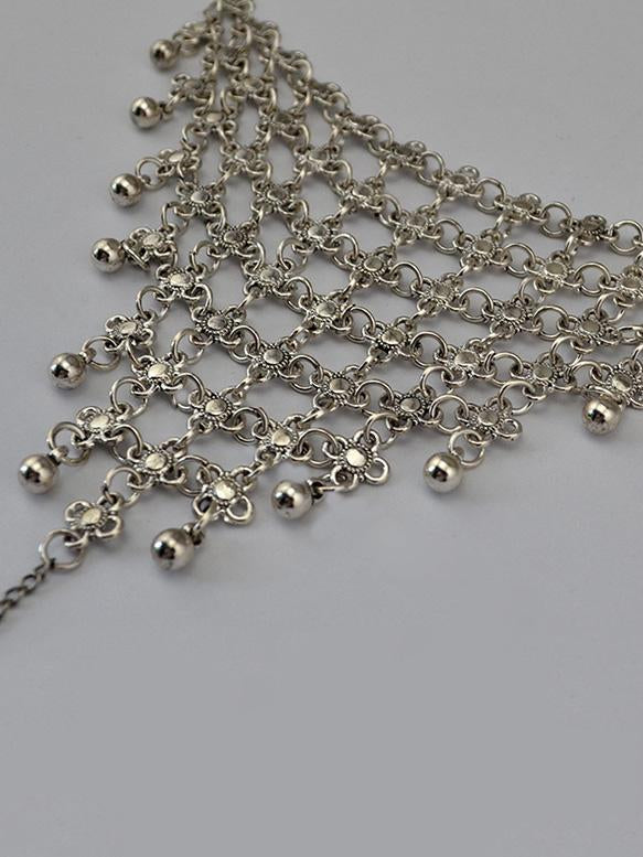 Bohemia Alloy Hollow Footchain Accessories