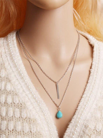 Vintage Three Layers Necklaces Accessories
