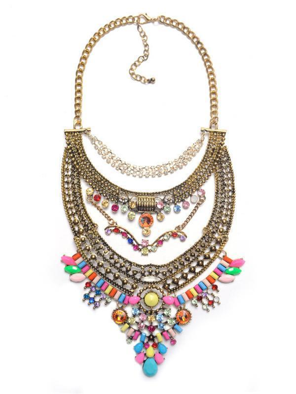 Bohemia Vintage Exaggeration Necklaces Accessories