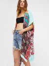 Floral Printed Cover-Ups Swimwear