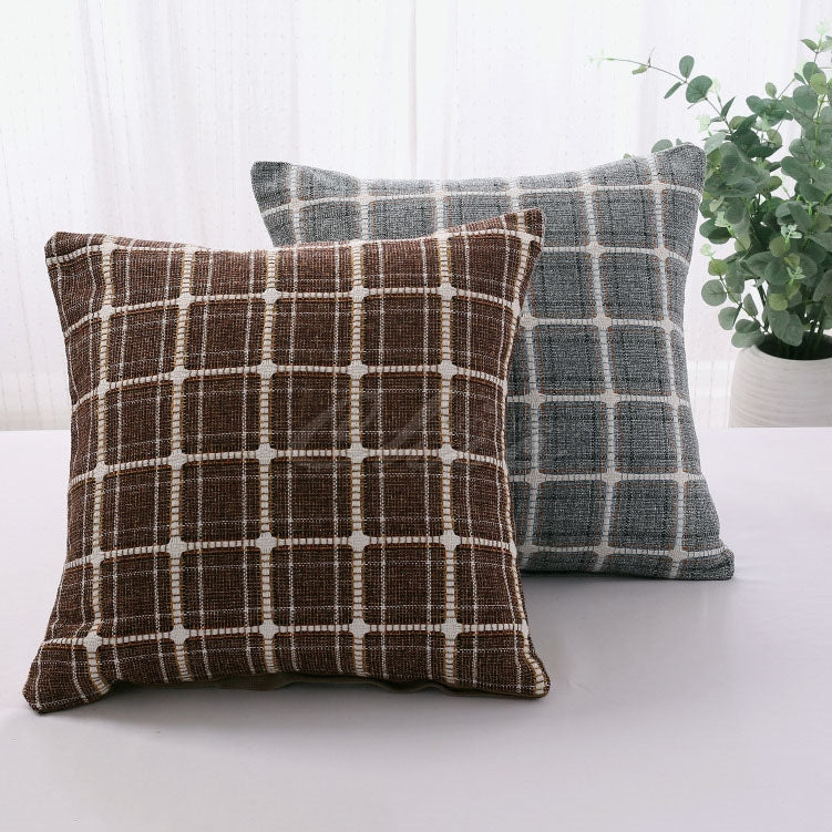Plaid Printed Pillowcase