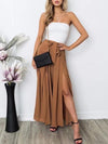 Fashion Strapes Bandage Wide Leg Pants
