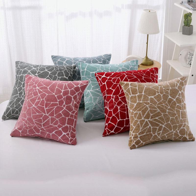 Stone Pattern Printed Pillowcase