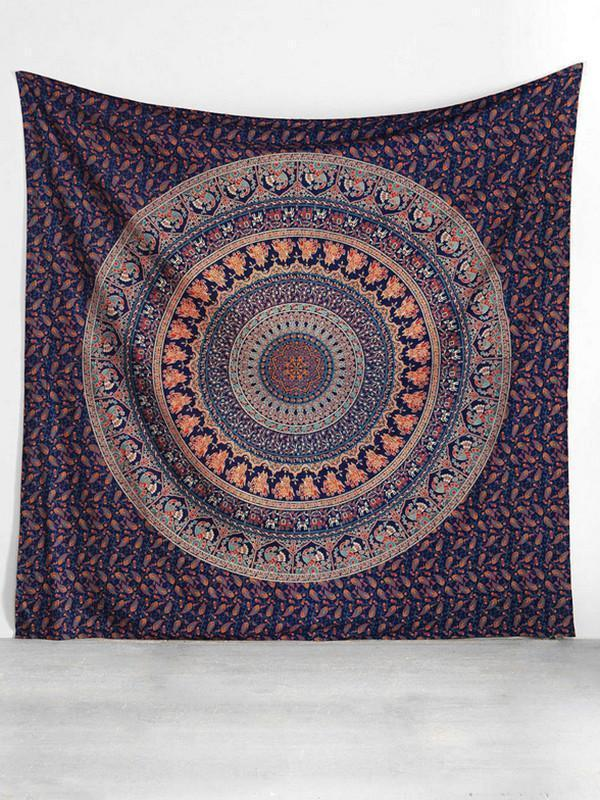 Traditional Summer Rectangle Shawl Beach Mat Yoga Mat