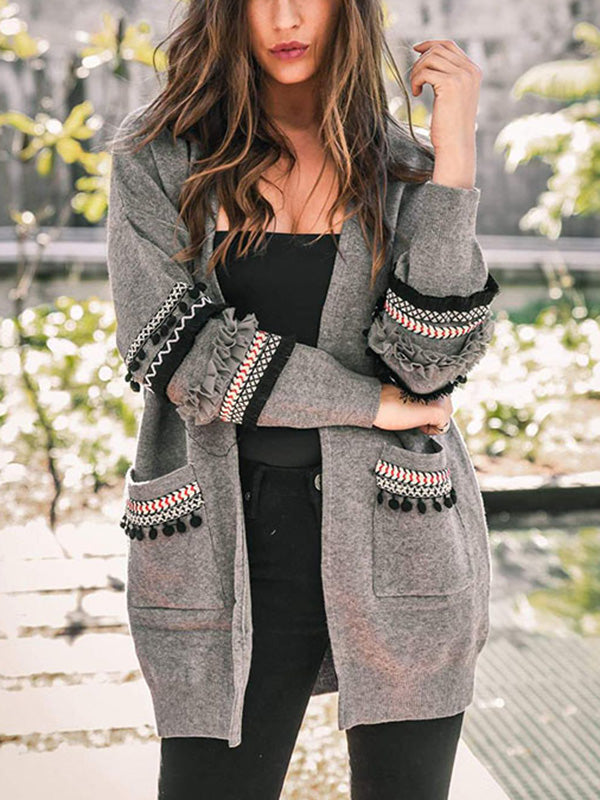 6 Colors Cardigans Tops