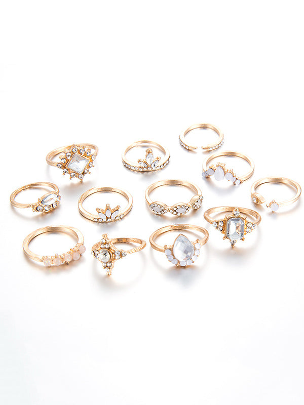 Vintage Various Styles 12pieces Rings