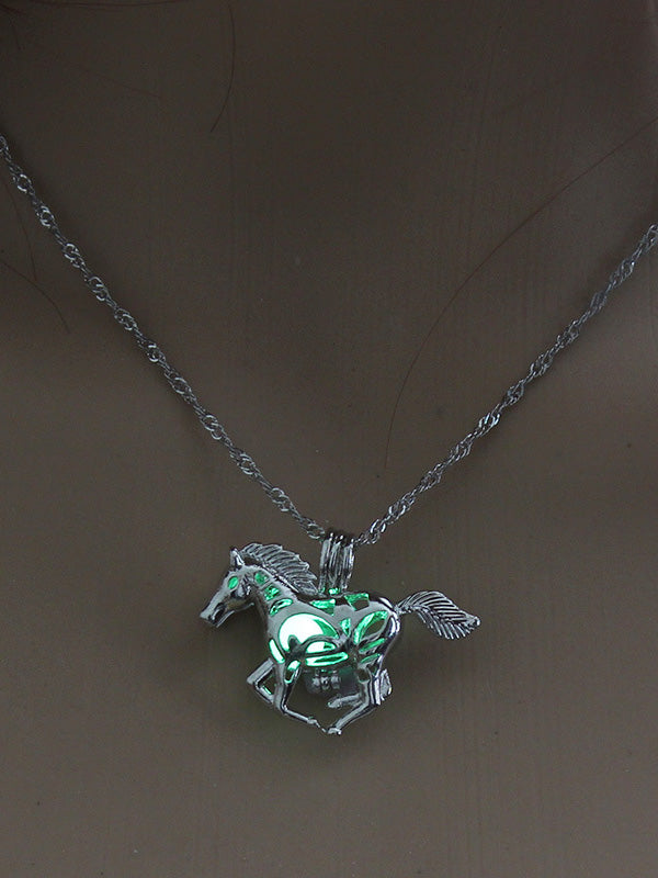 Luminous Horse Pendant Accessories