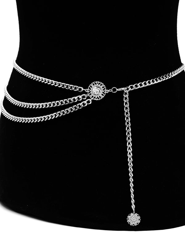Simple Three-layer Waist Chain