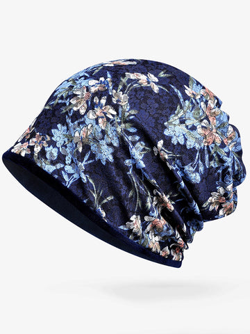 Bohemia Cotton Floral Hat Accessories