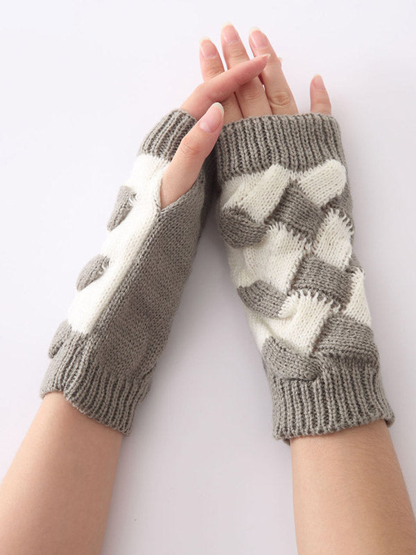 Cute Knitted 5 Colors Sleevelet Accessories