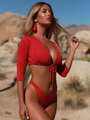 'Victoria' Swimsuit Set  swimwear  KOLCHA COMPANY