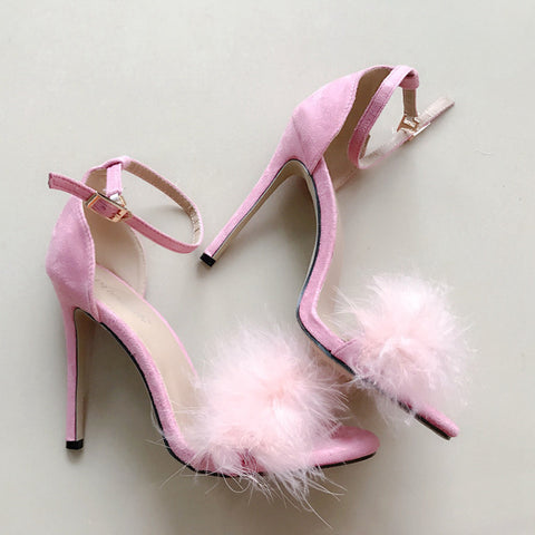 Feather Toe High-Heels - KOLCHA COMPANY