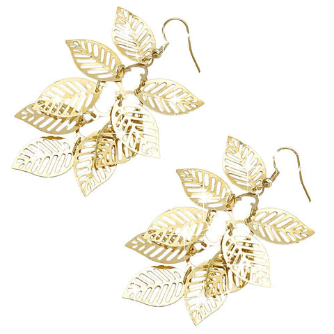 Bohemian Tassel Leaf Earrings  jewelry  KOLCHA COMPANY