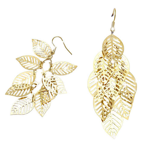 Bohemian Tassel Leaf Earrings - KOLCHA COMPANY