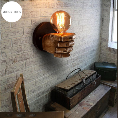 Iron Fist Wall Lamp