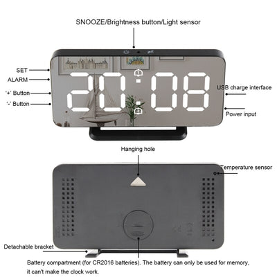 Smart Dimmable Digital Clock