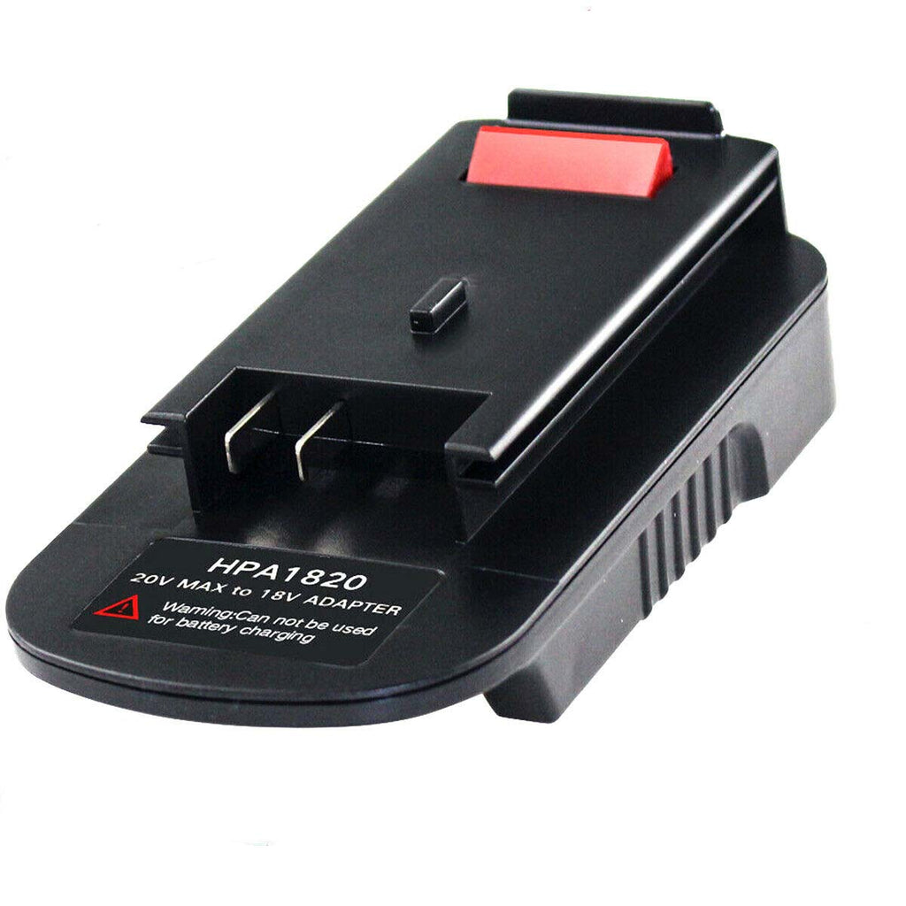 HPA1820 20V to 18V Adapter | for Black & Decker Porter Cable Stanley 20V li-ion Battery