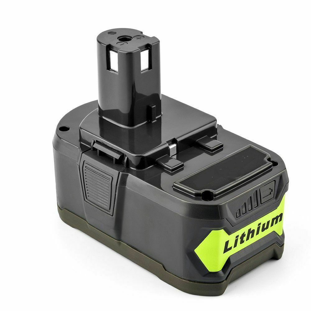 Ryobi 18V Lithium Battery Replacement | P108 P120 4.0Ah Battery | side