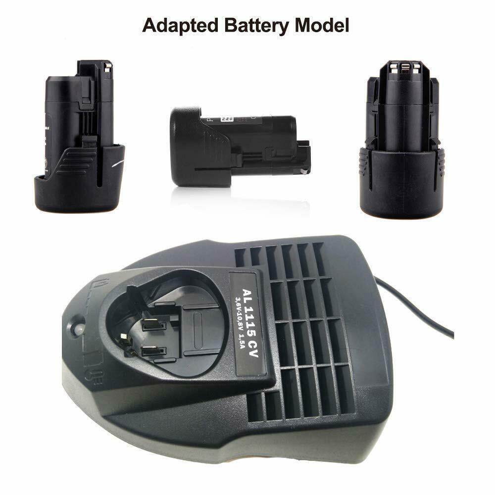 For Bosch 10.8v Li-ion Battery Charger AL1115CV |1.5A BAT414