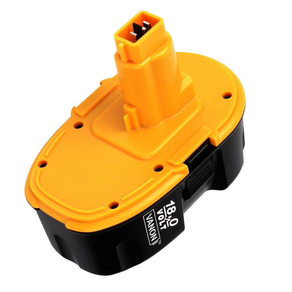 For Dewalt 18V Battery 4.0Ah Ni-Mh Replacement | High Capacity | New Upgraded | Black and Yellow