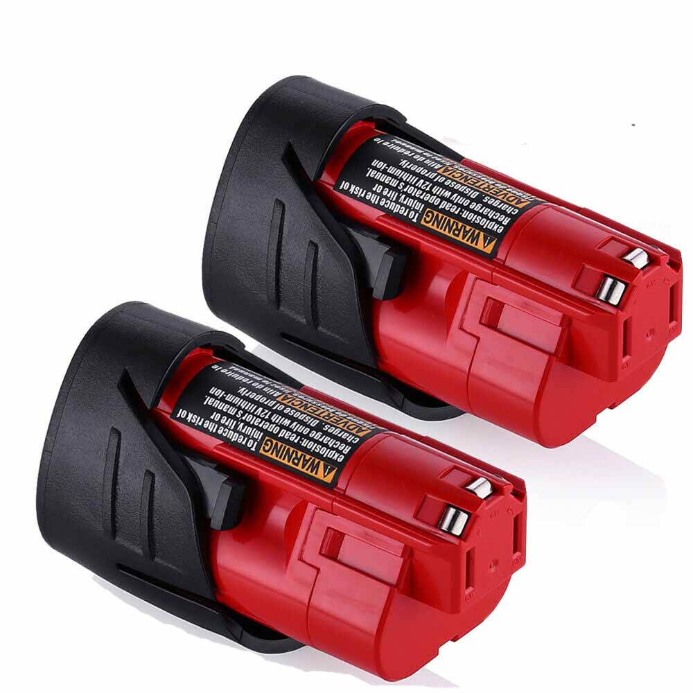 For Milwaukee M12 Battery Replacement | Upgraded to 3.5Ah Li-ion Battery 2 Pack
