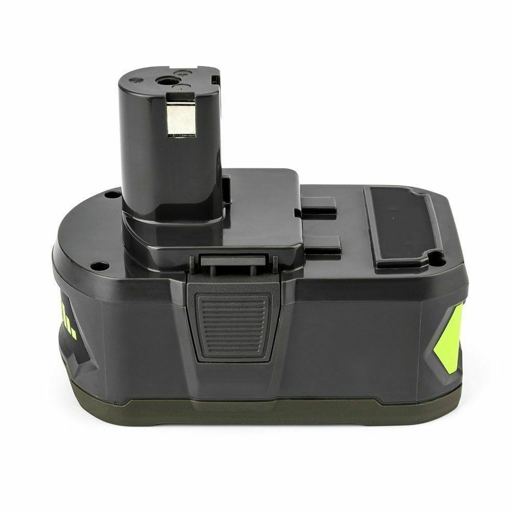 P108 Ryobi 18V Lithium Battery Replacement | P120 4.0Ah Battery | left