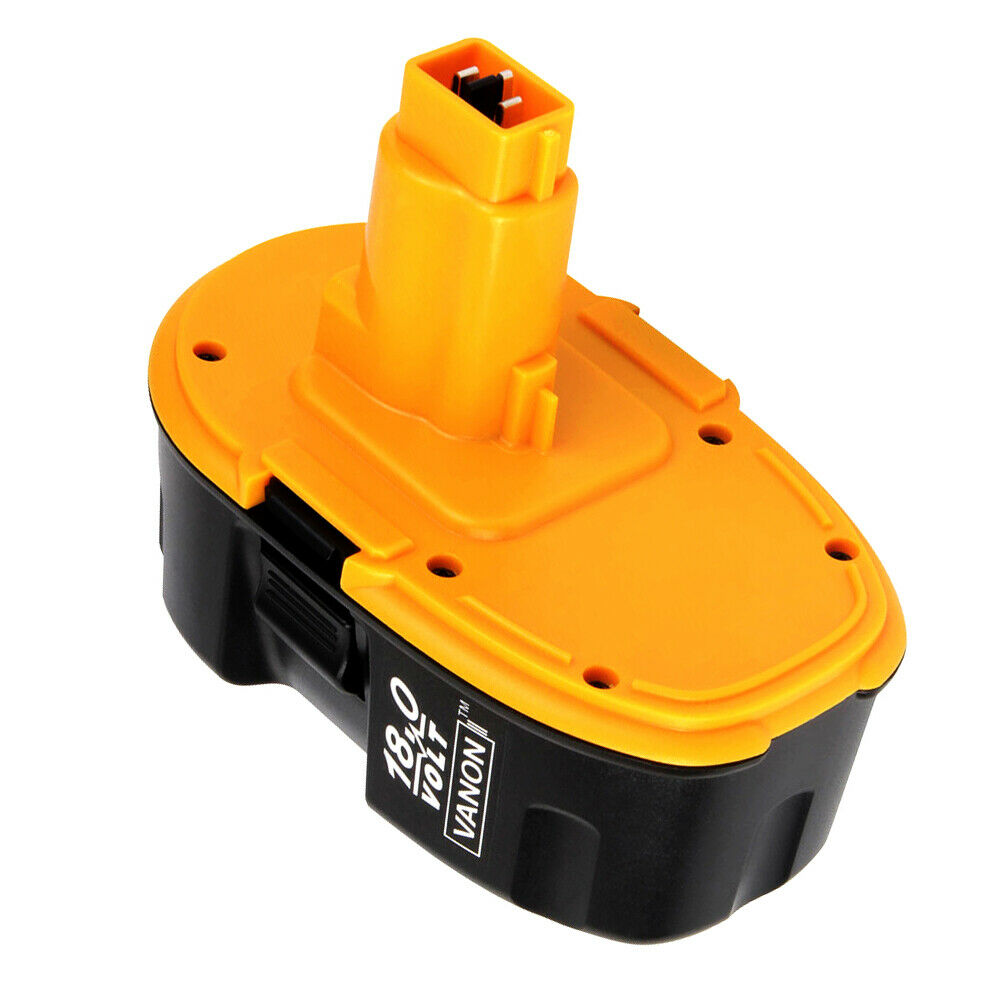 2 Pack For Dewalt 18V Battery 4.0Ah Replacement | High Capacity | New Upgraded | Black and Yellow