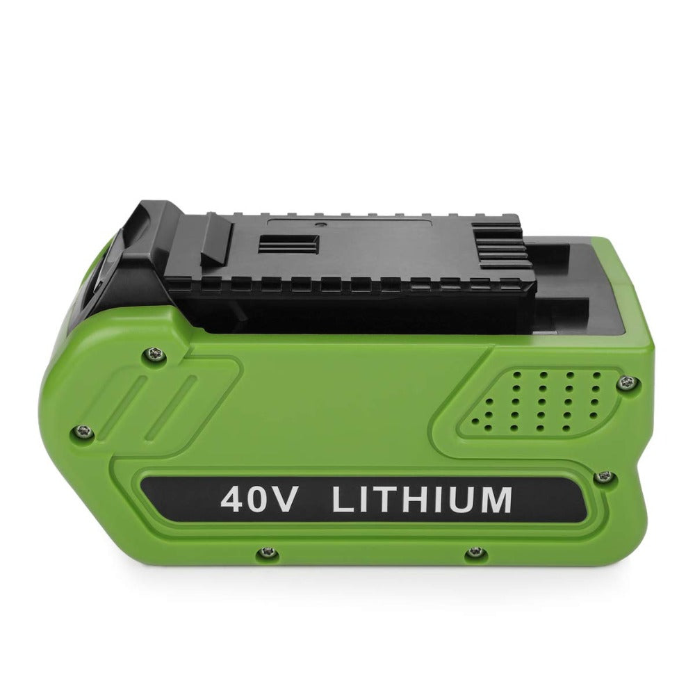 For GreenWorks 40V 6.0Ah Battery Replacement | Lithium Battery 29472 29462 Battery For GreenWorks 40V G-MAX Power Tools | 29252 20202 22262 25312 25322 20642 22272 27062 21242 (Not for Gen 1)