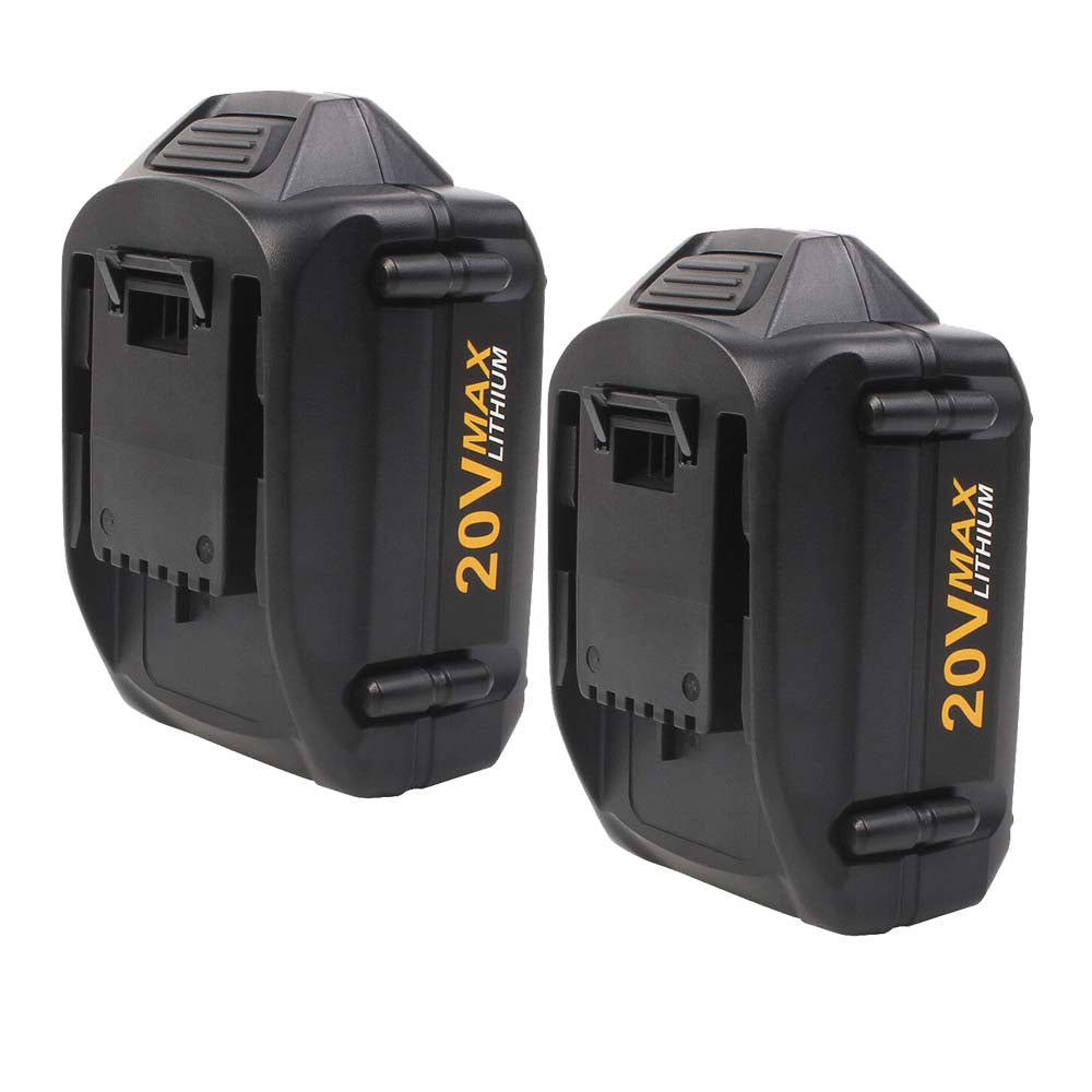 For Worx 20V Max Battery Replacement | WA3520 5.0Ah Li-ion Battery 2 Pack