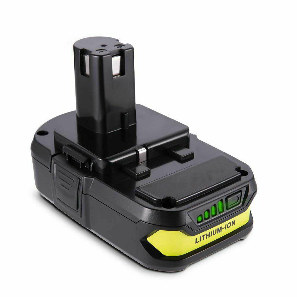 Ryobi P102 Battery Replacement | 18 Volt 2.5Ah Li-Ion Battery | side