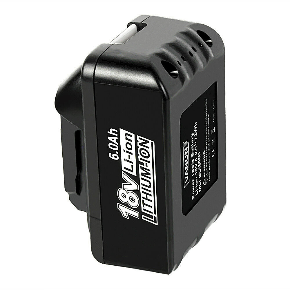 Makita 18V Battery Replacement | BL1860B 6.0Ah Battery With LED Indicator I BL1840 BL1850 BL1830 | bottom