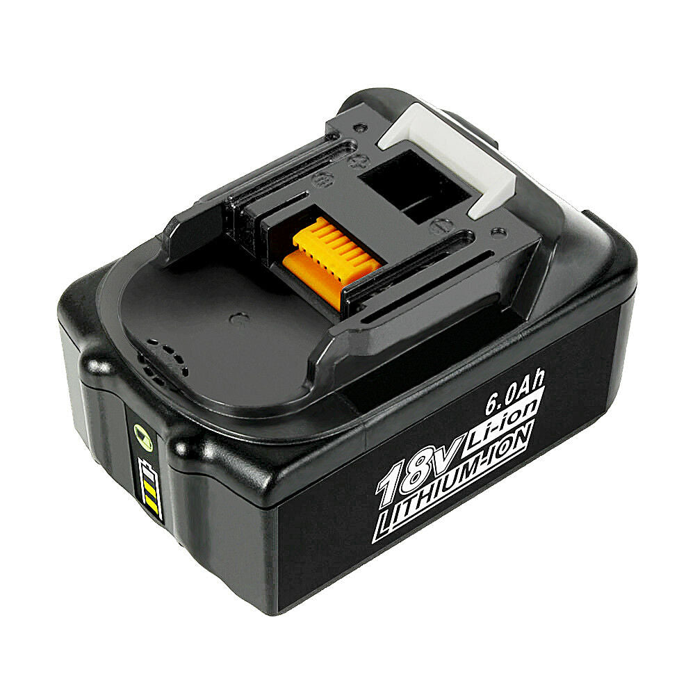 Makita 18V Battery Replacement | BL1860B 6.0Ah Battery With LED Indicator I BL1840 BL1850 BL1830 | top