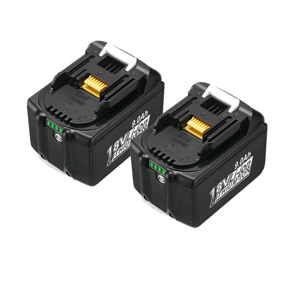 2 Pack BL1890B Battery Compatible With Makita 18V 9.0Ah Battery Replacement | BL1860 BL1850 BL1840 BL1890 LXT Li-ion Battery